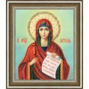 """Набор для вышивания бисером Золотое Руно """"Икона Святой Мученицы Натальи"""""""