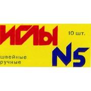 Аксессуары Колюбакинский завод Иглы №5 для ручного шитья