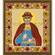 """Набор для вышивания бисером Nova sloboda """"Св.Великий Князь Игорь"""""""