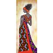"""Ткань с рисунком для вышивки бисером Матрёнин посад """"Кения"""""""
