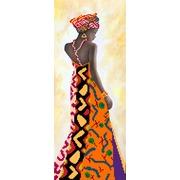 """Ткань с рисунком для вышивки бисером Матрёнин посад """"Уганда"""""""