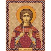 """Набор для вышивания бисером Nova sloboda """"Св. Вмц. Марина (Маргарита) Антиохийская"""""""