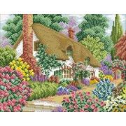 """Набор для выкладывания мозаики Паутинка """"Домик в цветах"""""""