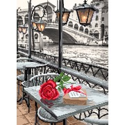 """Набор для вышивания бисером Матрёнин посад """"Венецианское кафе"""""""