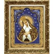 """Набор для вышивания крестом Чаривна Мить """"Икона Образ Пресвятой Богородицы Остробрамская"""""""