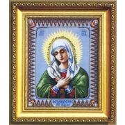 """Набор для вышивания крестом Чаривна Мить """"Икона Божьей Матери Умиление"""""""