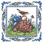 """Набор для вышивания крестом Candamar Designs """"Весенний дрозд"""""""