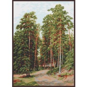 """Набор для вышивания крестом Палитра """"Солнце в лесу"""""""