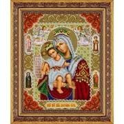 """Набор для вышивания бисером Паутинка """"Пресвятая Богородица Достойно Есть"""""""
