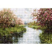 """Гобелен Luca-S """"Весенний пейзаж"""""""
