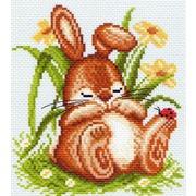 """Набор для вышивания крестом Матрёнин посад """"Спящий кролик"""""""