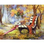 """Канва/ткань с нанесенным рисунком Матрёнин посад """"Недописанный роман"""""""