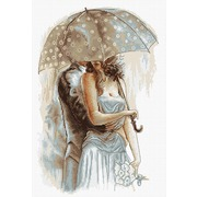 """Набор для вышивания крестом Luca-S """"Под зонтом 2"""""""