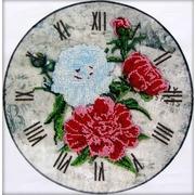 """Набор для вышивания бисером Глурия (Астрея) """"Часы-пионы"""""""
