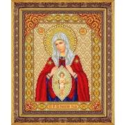 """Набор для вышивания бисером Паутинка """"Пресвятая Богородица в родах помощница"""""""