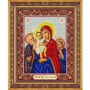"""Набор для вышивания бисером Паутинка """"Пресвятая Богородица Трех радостей (Святое Семейство)"""""""