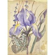 """Набор для вышивания Матрёнин посад для создания открыток """"Сиреневый нектар"""""""