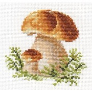 """Набор для вышивания крестом Алиса """"Белые грибы"""""""