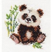 """Набор для вышивания крестом Алиса """"Панда"""""""