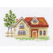 """Набор для вышивания крестом Алиса """"Солнечный домик"""""""