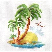 """Набор для вышивания крестом Алиса """"Пальмовый островок"""""""