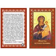 """Ткань с рисунком для вышивки бисером Матрёнин посад """"Молитва путешественника"""""""