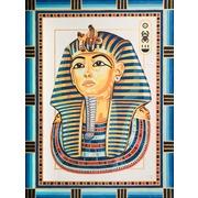 """Канва/ткань с нанесенным рисунком Grafitec """"Король Тутанхамон"""""""