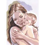 """Канва/ткань с нанесенным рисунком Grafitec """"Материнство"""""""