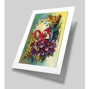 """Набор для вышивания лентами Матрёнин посад """"Букет любимой"""" набор для создания открыток"""