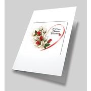 """Набор для вышивания лентами Матрёнин посад """"Вестники любви"""" набор для создания открыток"""