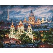 """Набор для раскрашивания Белоснежка """"Все краски вечера. Санкт-Петербург"""""""