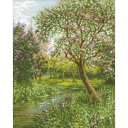 """Набор для выкладывания мозаики Паутинка """"Цветущий сад"""""""