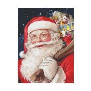 """Набор для вышивания крестом Kustom Krafts Inc. """"Санта"""""""