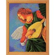 """Набор для вышивания бисером Радуга бисера (Кроше) """"Музицирующий ангел. Терцо"""""""
