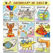 """Набор для вышивания крестом Bothy Threads """"Dogs"""" (Собаки)"""