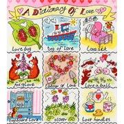 """Набор для вышивания крестом Bothy Threads """"Love"""" (Любовь)"""