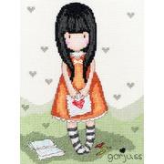 """Набор для вышивания крестом Bothy Threads """"I Gave you my Heart"""" (Подарила сердце)"""