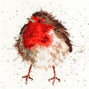 """Набор для вышивания крестом Bothy Threads """"Jolly Robin"""" (Забавный Робин)"""