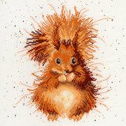"""Набор для вышивания крестом Bothy Threads """"The Nutcracker"""" (Бельчонок)"""