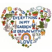 "Набор для вышивания крестом Bothy Threads ""Heart of the Garden"" (Сердце сада)"
