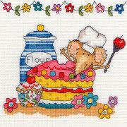 "Набор для вышивания крестом Bothy Threads ""Baking Mouse"" (Мышка печет)"