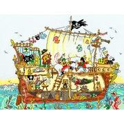"""Набор для вышивания крестом Bothy Threads """"Pirate Ship"""" (Пиратский корабль)"""