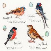 """Набор для вышивания крестом Bothy Threads """"Garden Birds 3"""" (Птицы 3)"""