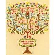 """Набор для вышивания крестом Bothy Threads """"Traditional Family Tree"""" (Традиционное семейное дерево)"""