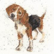 """Набор для вышивания крестом Bothy Threads """"Beagle"""" (Бигль)"""