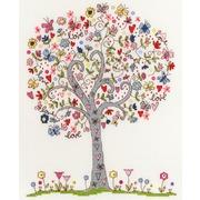 """Набор для вышивания крестом Bothy Threads """"Love Tree"""" (Любимое дерево)"""
