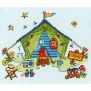 """Набор для вышивания крестом Bothy Threads """"Tent"""" (Палатка)"""