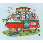 """Набор для вышивания крестом Bothy Threads """"Caravan"""" (Фургон)"""