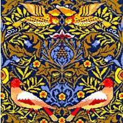 """Набор для вышивания крестом Bothy Threads """"Bird"""" William Morris (Птицы)"""