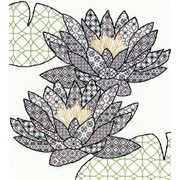 """Набор для вышивания крестом Bothy Threads """"Water Lily"""" (Водная лилия)"""